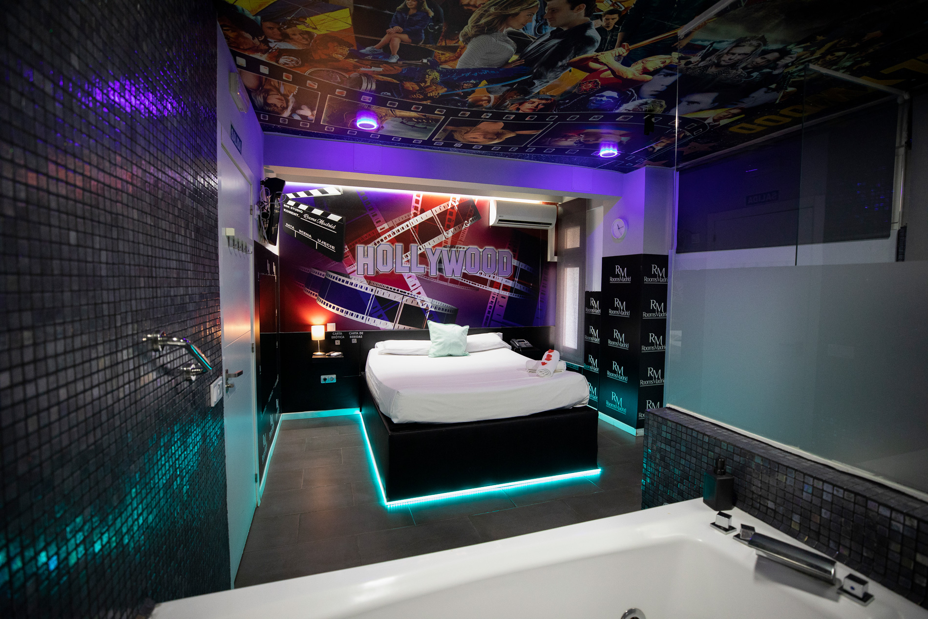 Rooms madrid  Hollywood